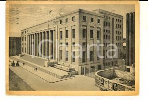 1951 PALERMO Palazzo Poste e Telegrafi *Cartolina postale ANIMATA FG VG