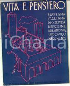 Novembre 1942 MILANO VITA E PENSIERO Mostra per l'Infanzia in Italia *Rivista