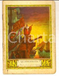 1940 Quaderno Sergio CAMMEO - Storia *Copertina illustrata VENEZIA REGINA