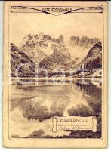 1940 Quaderno Sergio CAMMEO - Eneide *Copertina illustrata LAGO DI LANDRO