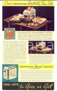 1960 ca TOASTMASTER  Toast -Waffle Baker  *Volantino pubblicitario