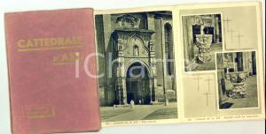 1950 ca Cattedrale di ASTI 10 vedute artistiche - Cartoline 11x15 cm VINTAGE