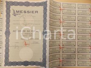 1966 PARIS Action au porteur MESSIER Société Anonyme