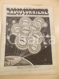 1931 RADIOCORRIERE L'opera russa in Italia - KOVANCINA *Rivista anno VII n°48