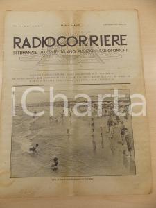1932 RADIOCORRIERE