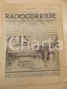 1932 RADIOCORRIERE La registrazione con sistema BLATTNERPHONE *Rivista