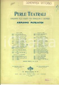 1907 DONIZETTI Don Pasquale - E' rimasto là impietrato *Spartito RICORDI