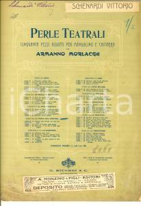 1907 VERDI La forza del destino - Son Pereda  *Spartito mandolino RICORDI