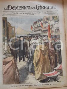 1906 DOMENICA DEL CORRIERE Conferenza di ALGESIRAS per il Marocco *Anno VIII n°4