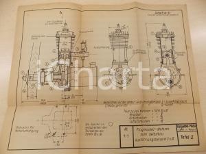 1942 A. FELGIEBEL Benzinmotoren - Flugmodell - Motoren zum Selbstau *Tafel II