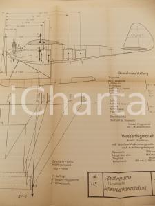 1942 A. FELGIEBEL Benzinmotoren - Zeichnerische Schwerpunktsermittelung *Tafel I