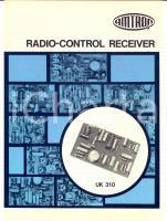 1970 ca MILANO Radio-control receiver AMTRON *Catalogo English UK 310