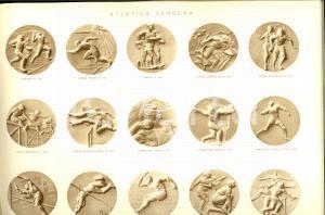 1940 ca MILANO Ditta Emilio SENESI Catalogo ILLUSTRATO Medaglie e coppe sportive