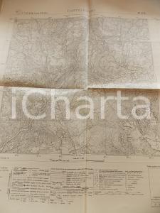 1924 Istituto Geografico Militare CARTA D'ITALIA - CASTELROTTO Foglio 11 *Mappa