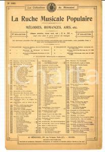 1920 ca Alfred ROLAND Tyrolienne des Pyrénées *Collections du MENESTREL