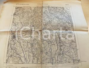 1920 ca Istituto Geografico Militare CARTA D'ITALIA BORGOMANERO Foglio 31 *Mappa