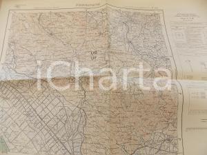 1955 Istituto Geografico Militare CARTA D'ITALIA - FROSINONE Foglio 159 *Mappa