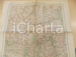 1948 Istituto Geografico Militare CARTA D'ITALIA - PASSO DELLO SPLUGA Foglio 6