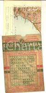 1911 TOURING CLUB ITALIANO Carta d'Italia - CATANZARO Foglio n° 48 40x50 cm