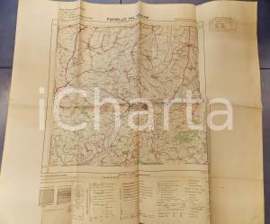 1959 Istituto Geografico Militare CARTA D'ITALIA - PIANELLO VAL TIDONE Foglio 71