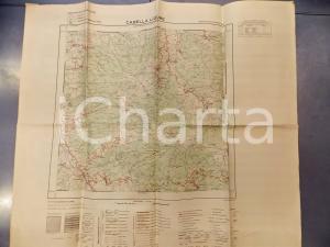 1959 Ist. Geografico Militare CARTA D'ITALIA - CABELLA LIGURE Foglio 71 *Mappa