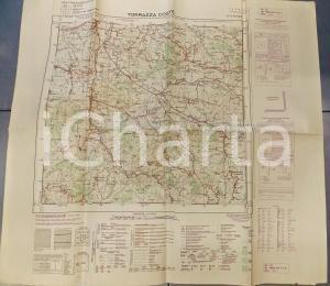 1959 Istituto Geografico Militare CARTA D'ITALIA - TORRAZZA COSTE *Mappa