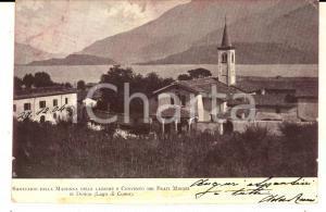 1902 DONGO Santuario Madonna delle Lacrime e convento Frati Minori *Cartolina FP