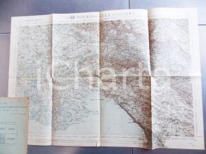 Marzo 1917 TCI Carta della guerra FRONTE GIULIA GORIZIA-TRIESTE 60x40 cm