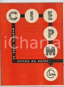 1956 PARIS CIEPM Profils filés et étirés en acier - Catalogue ILLUSTRE' p.54