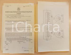 1955 SUD AFRICA Brevetto invenzione Osvaldo BALESTRA per forno anti-ossidazione