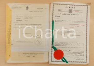 1957 CANADA Brevetto invenzione Osvaldo BALESTRA per forno anti-ossidazione