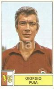 PANINI - CALCIATORI 1971 - 1972 Figurina Giorgio PUIA Serie A TORINO