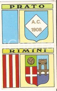 PANINI - CALCIATORI 1971 - 1972 Stemma AC PRATO - AC RIMINI Figurina 70ab