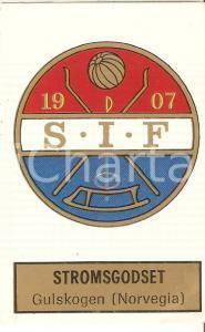 PANINI - CALCIATORI 1971 - 1972 Stemma Strømsgodset Idrettsforening Figurina 114