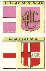 PANINI - CALCIATORI 1971 - 1972 Stemma A.C. LEGNANO - A.C. PADOVA Figurina 57ab
