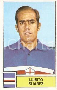 PANINI - CALCIATORI 1971 - 1972 Figurina Luisito SUAREZ *Serie A SAMPDORIA