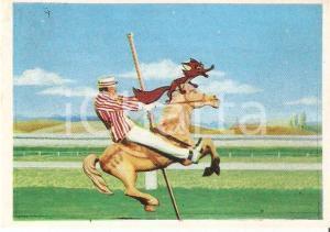 1964 MARY POPPINS Figurina n. 74 - Bert cavalca cavallo delle giostre