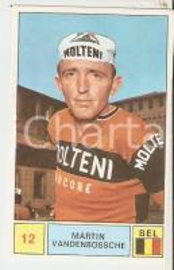 PANINI - SPRINT 1971 Figurina Martin VANDENBOSSCHE n 81 Ciclismo Sponsor MOLTENI