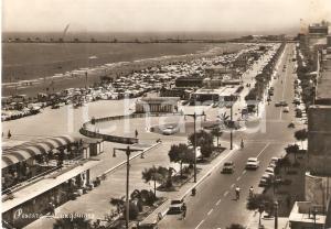 1957 PESCARA Panorama con lungomare *Cartolina FG VG