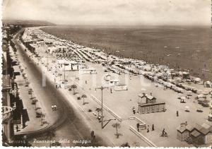 1968 PESCARA Panorama della spiaggia *Cartolina FG VG