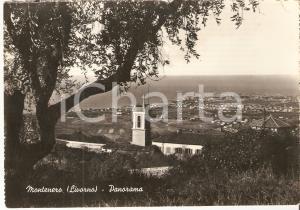 1958 LIVORNO Panorama della frazione MONTENERO *Cartolina FG VG