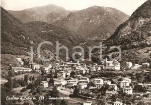 1963 CASLINO D'ERBA (CO) Panorama del paese *Cartolina FG VG