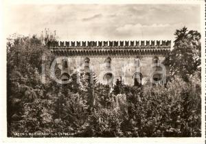 1958 CASSANO MAGNAGO (VA) Scorcio del Castello *Cartolina FG VG