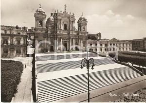 1953 NOTO (SR) Panorama con la Cattedrale *Cartolina FG VG