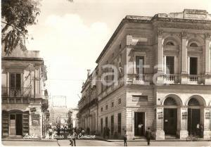 1963 AVOLA (SR) Palazzo del Comune in Piazza Teatro *Cartolina FG VG
