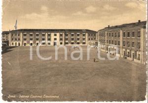 1954 SIENA Interno della Caserma LAMARMORA *Cartolina FG VG