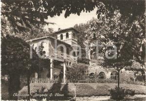 1957 CHIANCIANO TERME (BG) Sorgente SANT'ELENA *Cartolina FG VG
