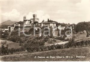 1953 SAN CASCIANO DEI BAGNI (SI) Panorama del paese *Cartolina FG VG