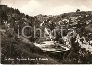 1962 NOTO (SR) Eremo di SAN CORRADO Panorama *Cartolina FG VG