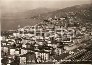 1956 VENTIMIGLIA (IM) Panorama e COSTA AZZURRA Riviera dei fiori Cartolina FG VG